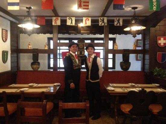 Old Swiss Inn: With its friendly & efficient staffs