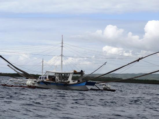 Balamban, Filipinas: Ausflug Fischerboot m. Grillen an Deck