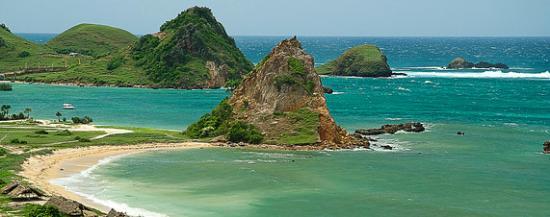 Kuta Beach Lombok Pantai Exotic