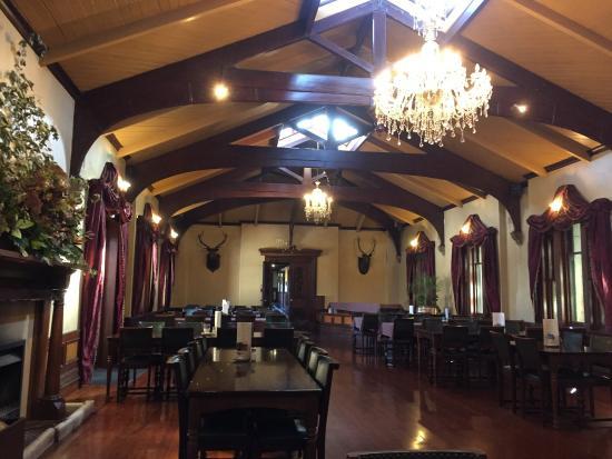 Ballroom Cafe at Larnach Castle