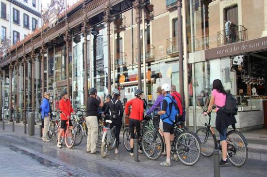 Rent & Roll, Visitas Madrid en Bici