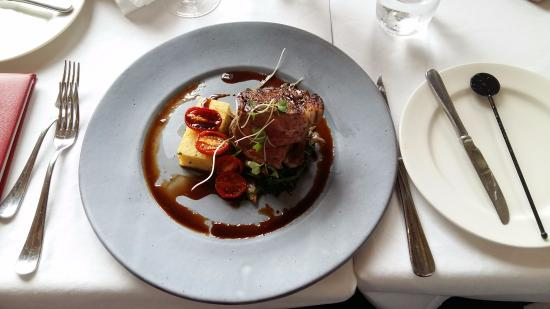 Catharina's Restaurant at Steenberg: sirloin steaks