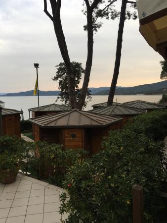 Le cabine della spiaggia