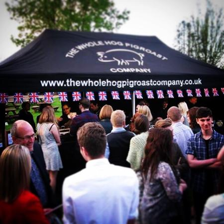 Hatton, UK: The Whole Hog Pigroast Company