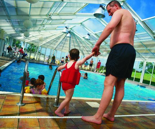 Indoor Pool Picture Of Trelawne Manor Holiday Park Looe Tripadvisor