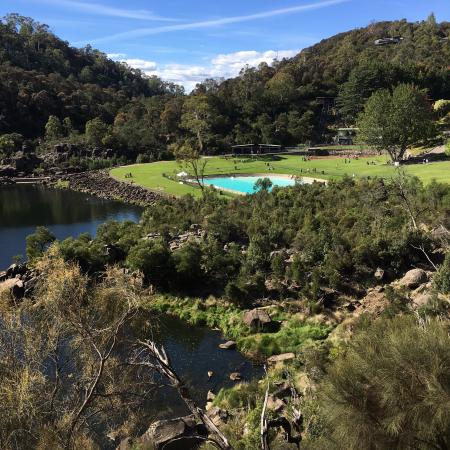 Cataract Gorge - a pleasant 3km walk along the river bank from Ellie's Place