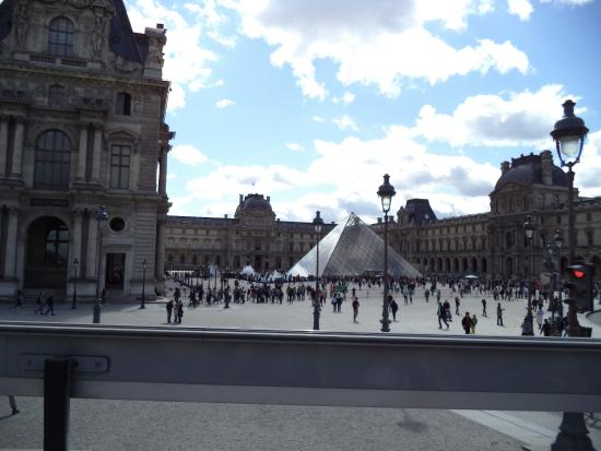 Outside The Louvre Museum Picture Of Musee Du Louvre