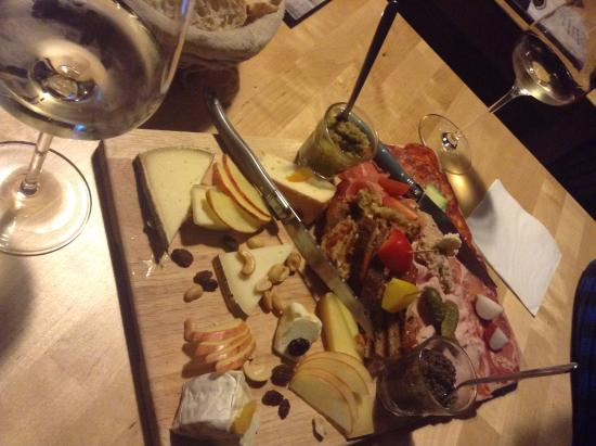 Incredible variety of cheeses and cold meats! - Picture of Le XX Bar ...