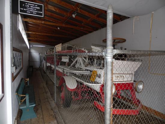 Butte, MT: Early Fire Truck