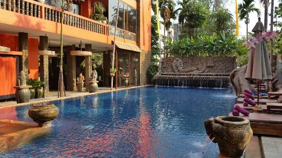 Golden Temple Hotel Pool Area