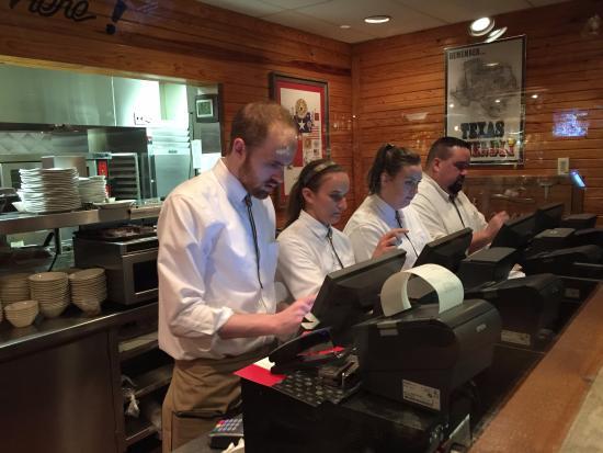 Saltgrass Steak House: some waiters