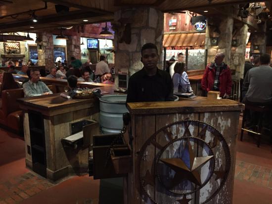 Saltgrass Steak House: welkome