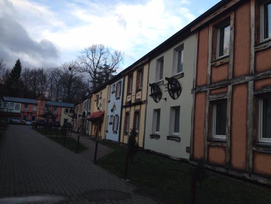 Hotel Harzlodge: Área comum dos chalés