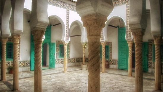 Villa Abd-el-Tif: Le patio