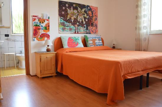 B&B Villa Olimpo le Torri: camera con bagno