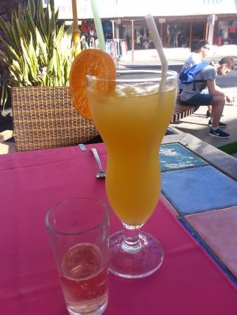 La Hacienda: Nice drinks