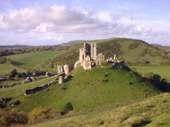Moreton, UK: Corfe Castle, Purbeck, Dorset
