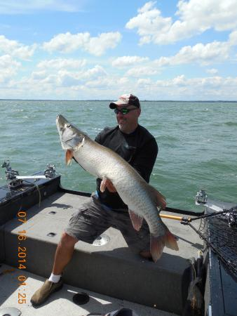 Terrebonne, Kanada: A 54 inches that marc put me on.