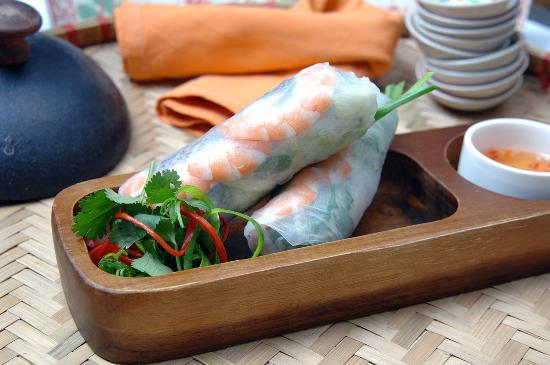 House of Hoi An: Rice Paper Rolls with Shrimp & Pork