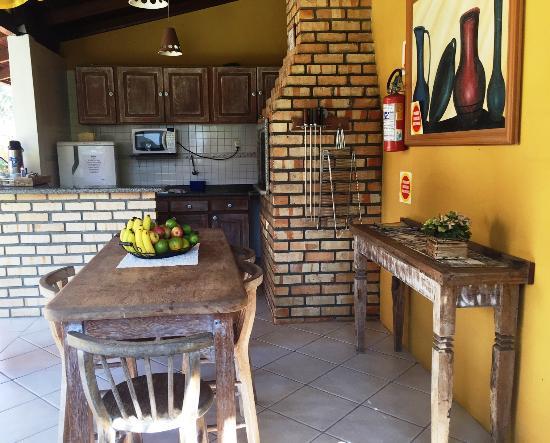 Pousada Portal Sul: Cozinha (área comum)
