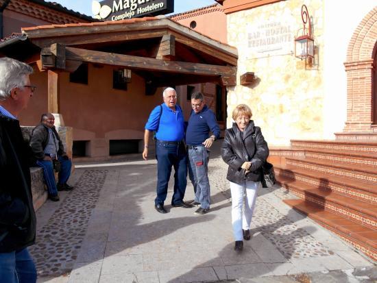 La Lastrilla, Spania: Salida despues de no Comer dos de los afectados