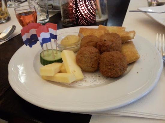 BEST WESTERN Hotel Baars: Hollandske specialiteter