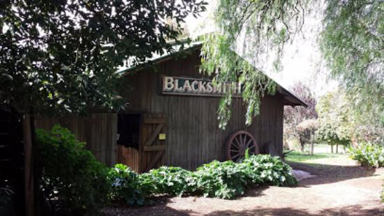 Seville, Australia: The blacksmith's cottage.