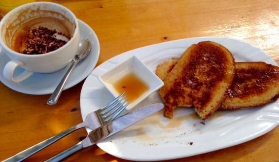 Whiting Bay, UK: French toast