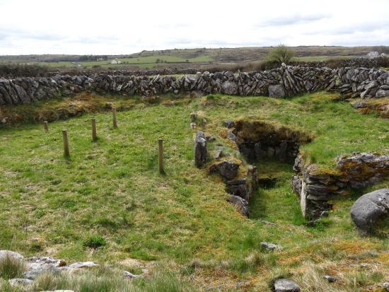 Caherconnell, Irlanda: dernière partie du fort