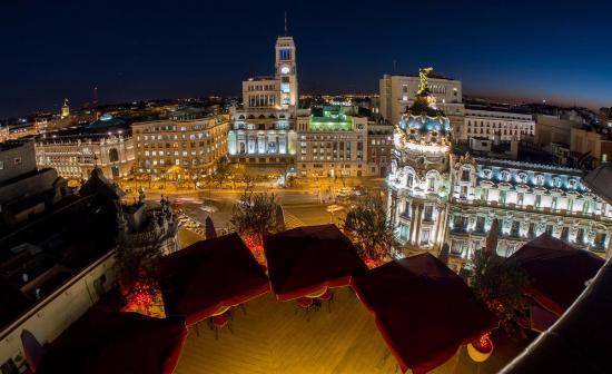 Vistas Desde La Terraza Fotografía De La Terraza Madrid