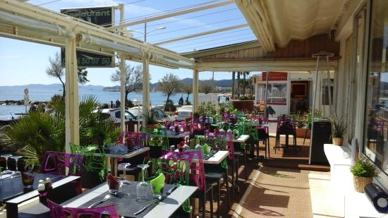 Terrasse Ouverte Et Fermee Picture Of O Panorama Le Lavandou