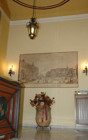 Villa Margherita: LA PIAZZA INCANTATA