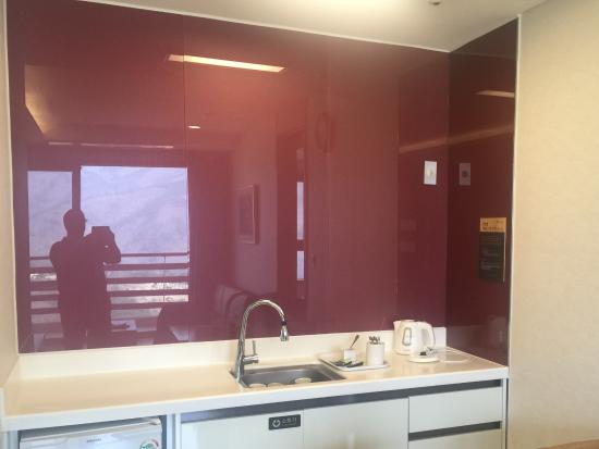 Delpino Golf & Resort: En suite kitchen