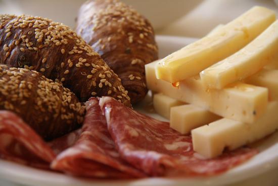 Hotel Residence Baita Clementi: colazione salata