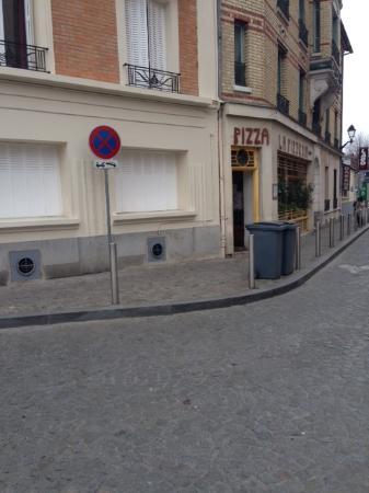Vanves, Frankrijk: facade du restaurant, qui ne donne pas de mine