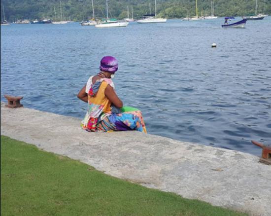 Portobelo, Panama: Vista desde el Restaurante