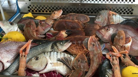 La Vecchia Cantina: Pesce fresco
