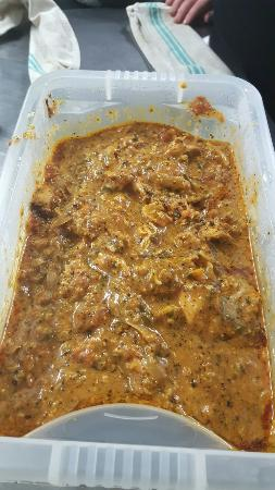 The Begelly Arms Restaurant: This is not curry from a jar it is home made curry