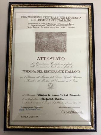 Ristorante Milano da Gianni