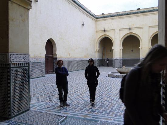 Mausoleum of Mouley Ismail: área central