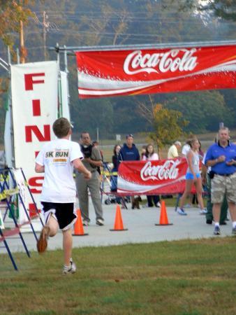 Douglasville, جورجيا: Triathlon/5K finish