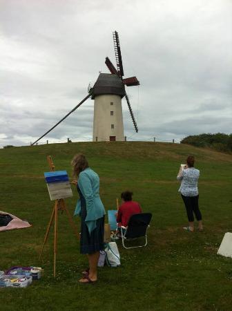 Karen Wilson Art: making the most of the fine weather