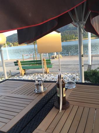werzer strandcasino cafe restaurant p rtschach am w rthersee restaurant bewertungen. Black Bedroom Furniture Sets. Home Design Ideas