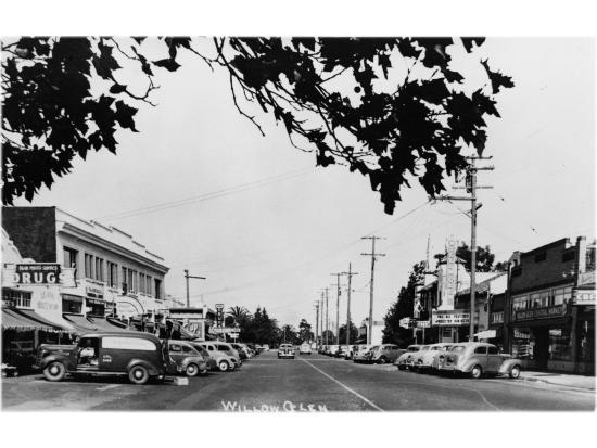 Downtown Willow Glen, San Jose, Ca