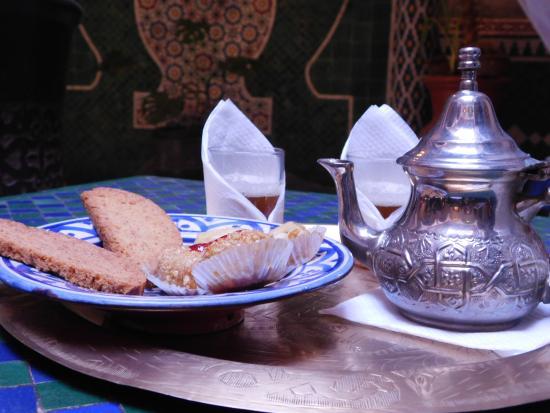 Riad Assalam: Moroccain Tea