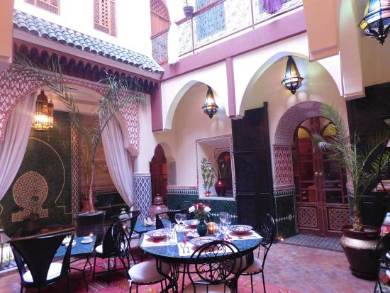 Riad Assalam: Patio