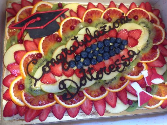 Torta Di Compleanno Con Numero Foto Di Bar Gelateria Sole Luna