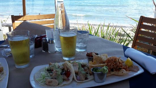 Fish Tacos Picture Of Boathouse At Hendry S Beach Santa Barbara
