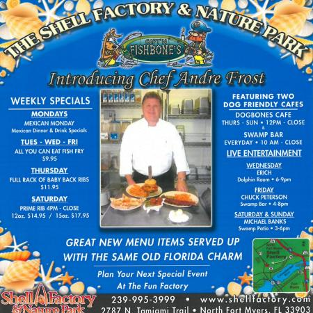 North Fort Myers, فلوريدا: Chef Andre'