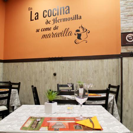 Restaurante la cocina de hermosilla en madrid con cocina for La cocina del desierto madrid
